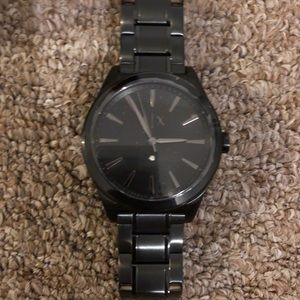 Armani & Exchange Black matted watch